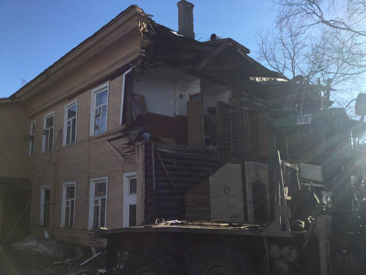 В Вологодской области не будут сносить памятники культурного наследия, подлежащие расселению