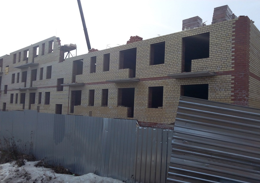 Дольщики вологодского «СУ-13» беспокоятся о своих квартирах в Кувшиново
