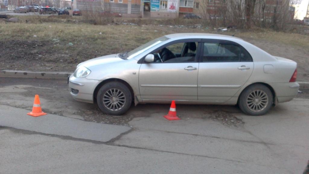 В Вологде во дворе жилого дома сбили 8-летнего мальчика