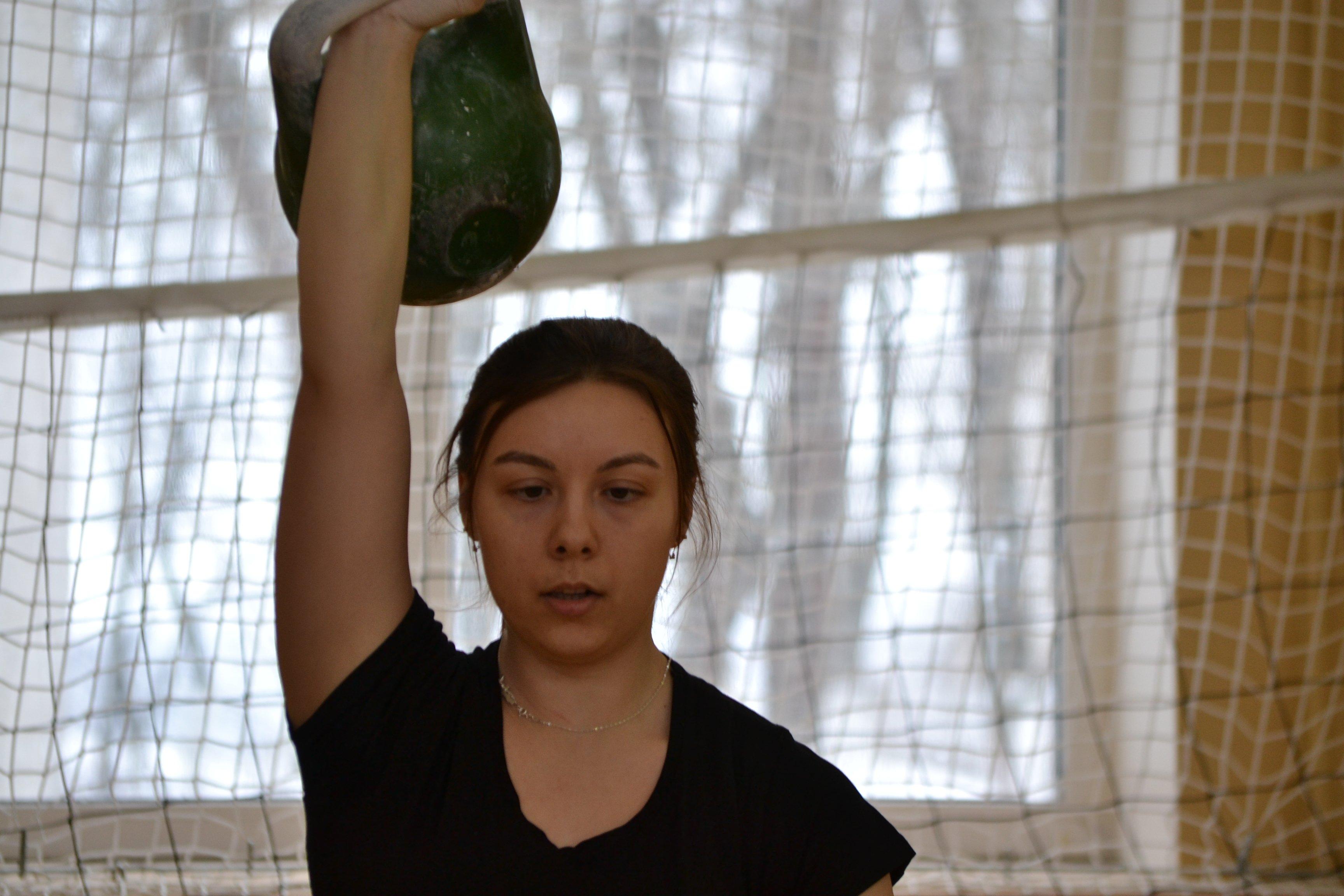 Вологжанка завоевала серебро Кубка России по гиревому спорту