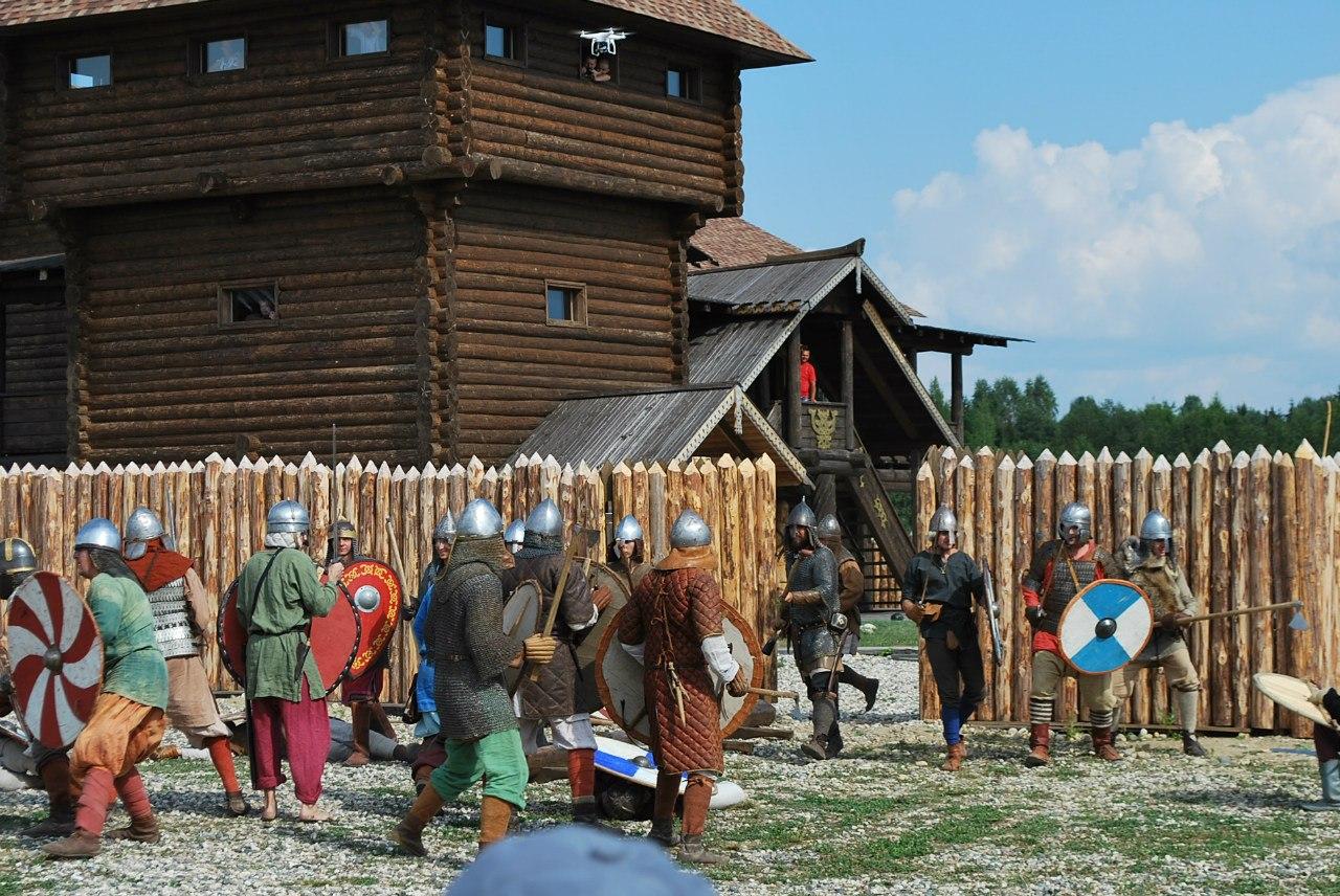 Историческая реконструкция со штурмом крепости пройдет в Кирилловском районе