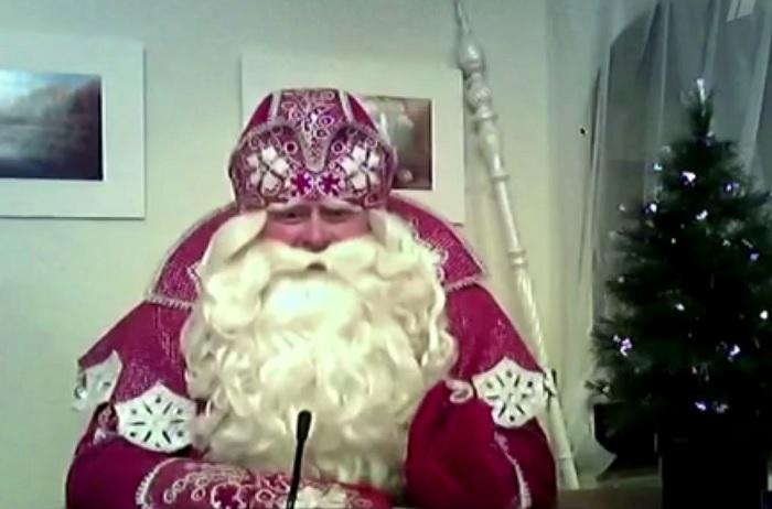 """Дед Мороз рассказал Ивану Урганту, что его сани не облагаются сбором системы """"Платон"""""""
