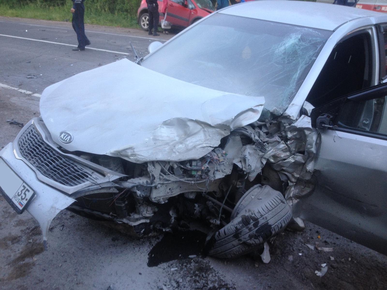 В Вытегорском районе  в аварии погиб 54-летний водитель «Сузуки»