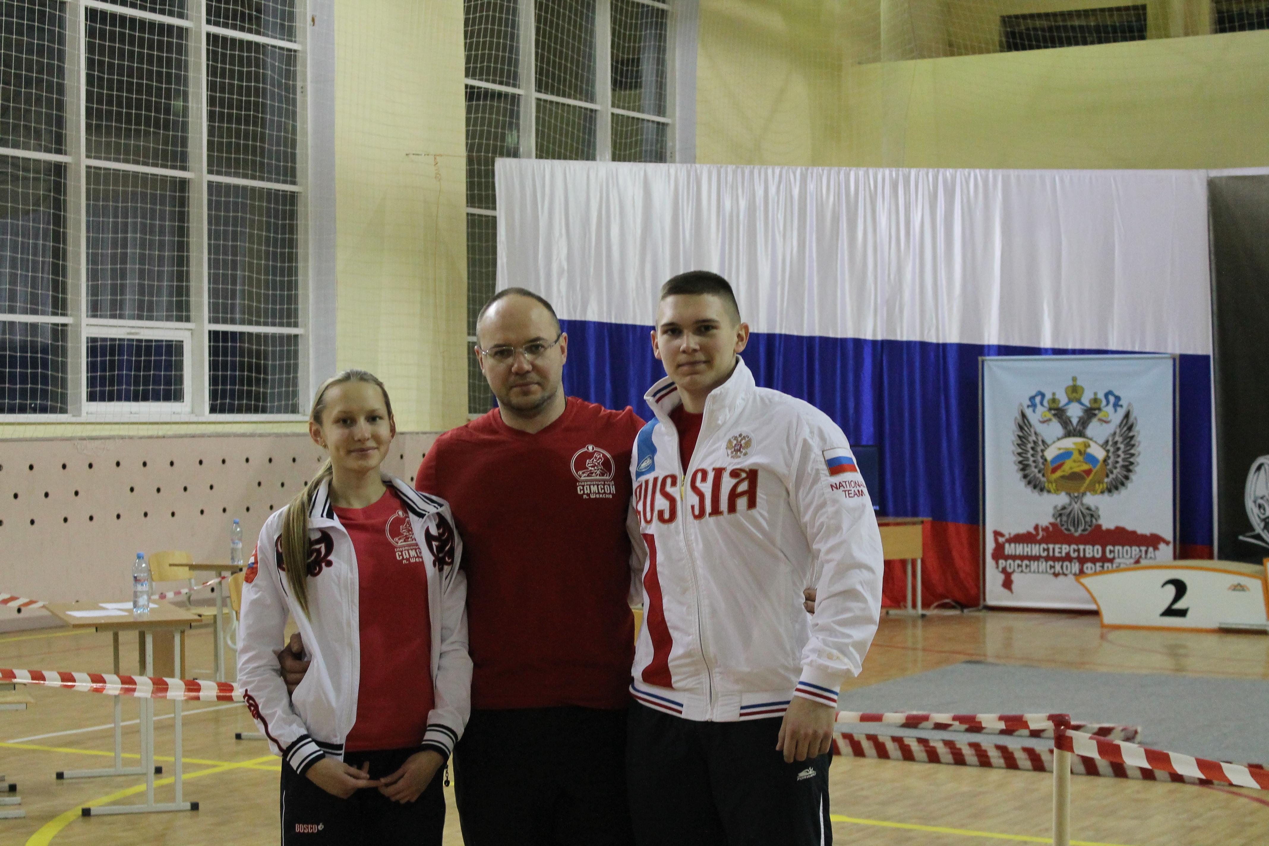 Вологодские пауэрлифтеры обновили российские спортивные рекорды