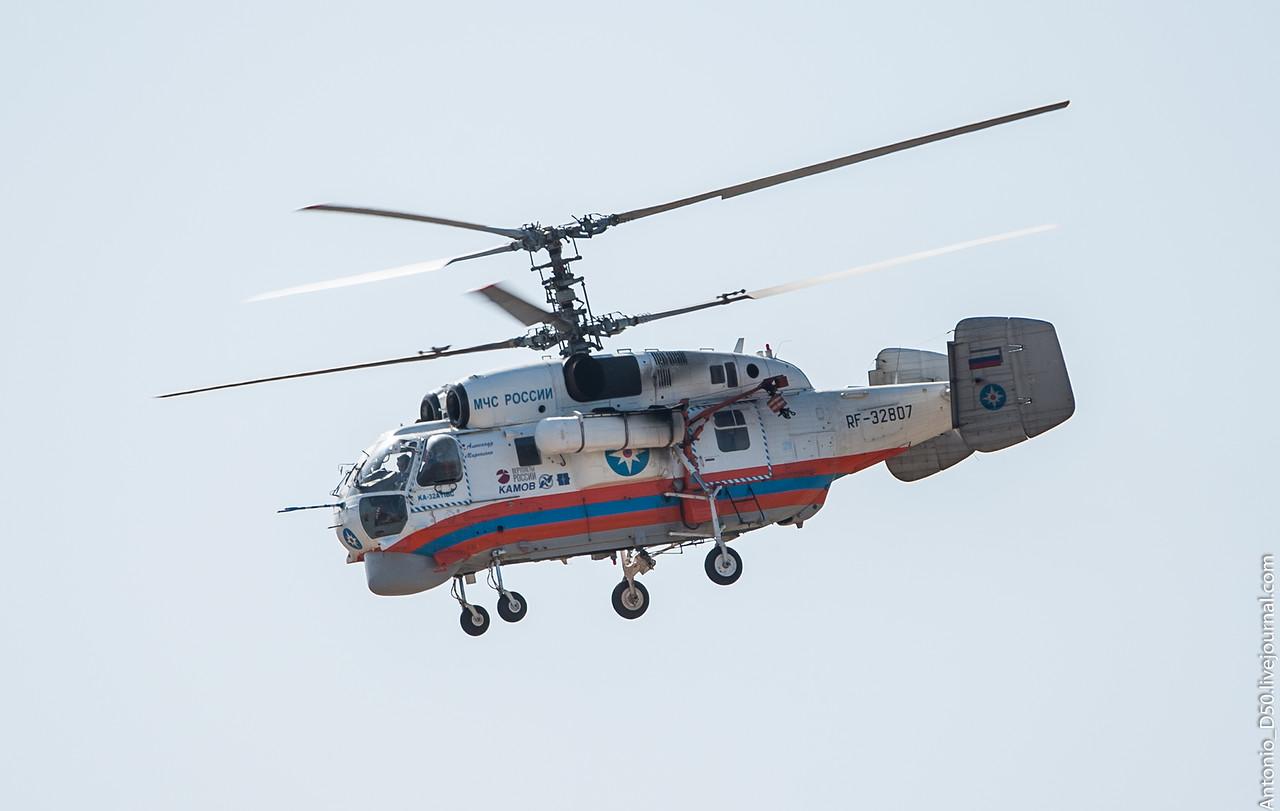 Вертолет Ка-32 направился в Великий Устюг