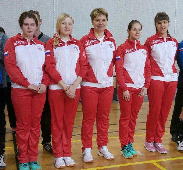 Голболистки из Вологодской области стали чемпионками России