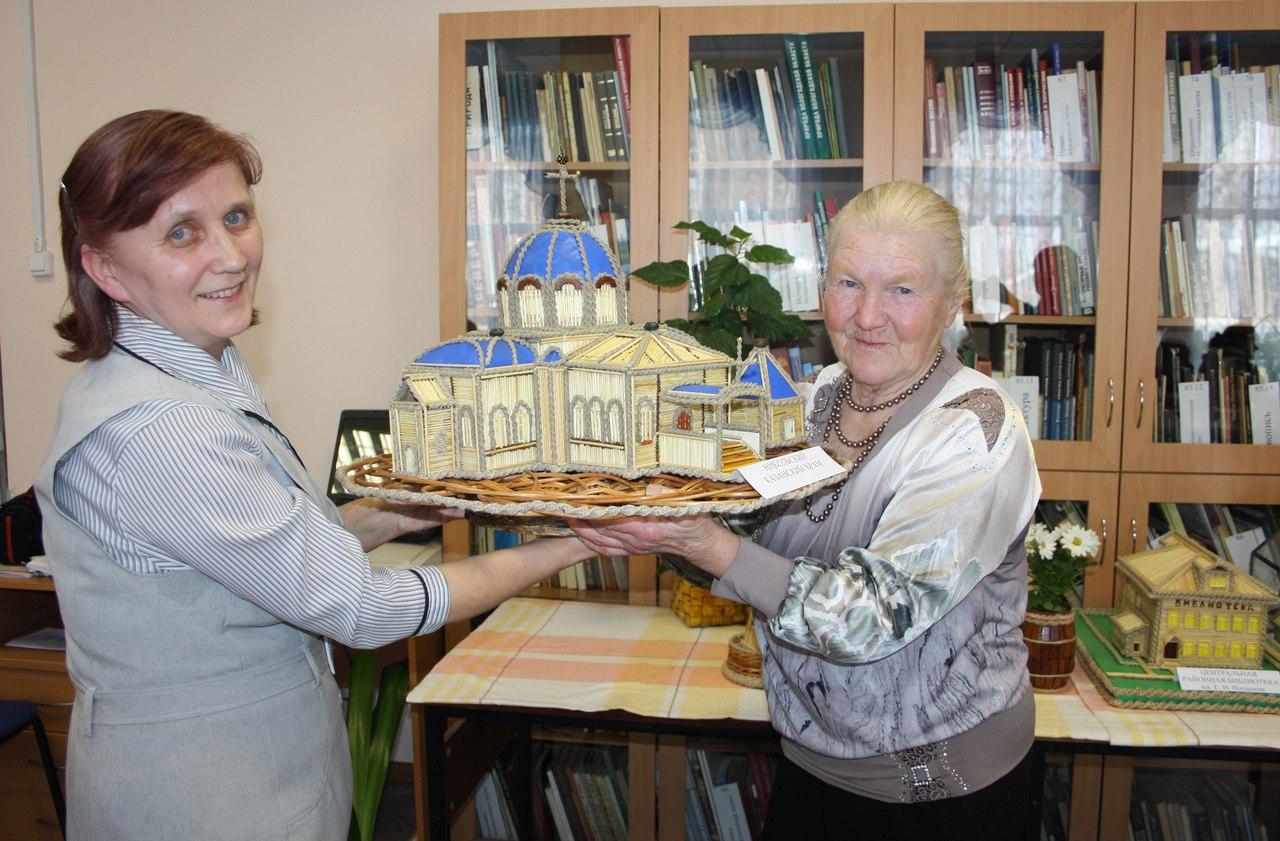 Макеты домов из спичек можно увидеть на выставке в Никольском районе