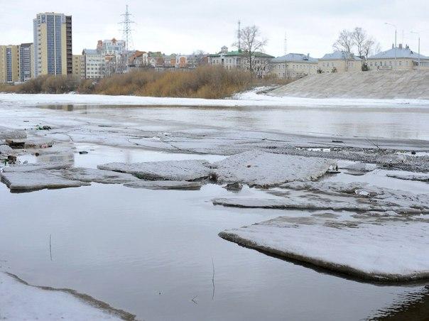 Вологжанин провалился под лед: спасти его не удалось
