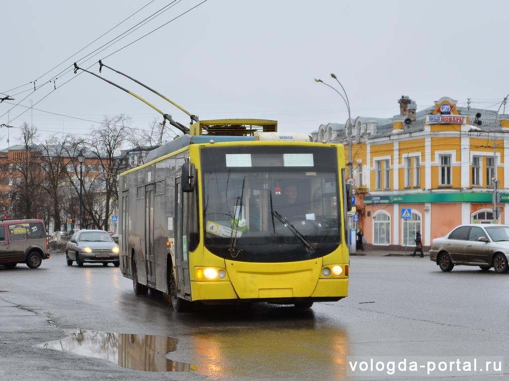 «Гортеплосеть» и «Водоканал» учредили троллейбусное предприятие в Вологде