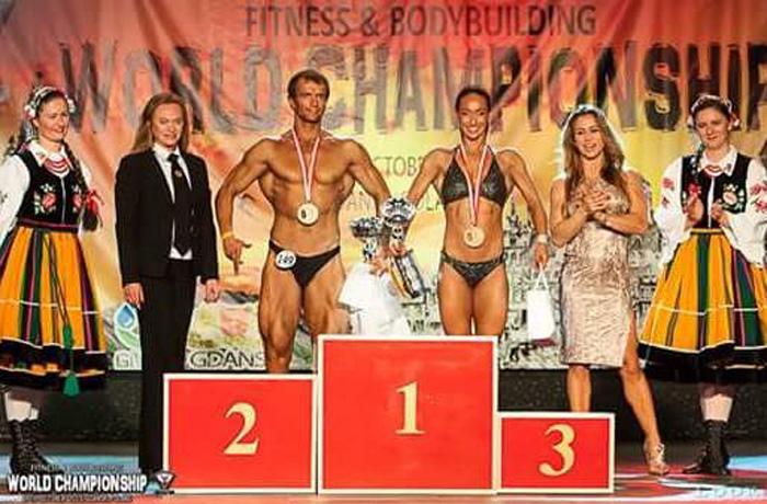 Череповецкая пара стала чемпионом мира по бодибилдингу