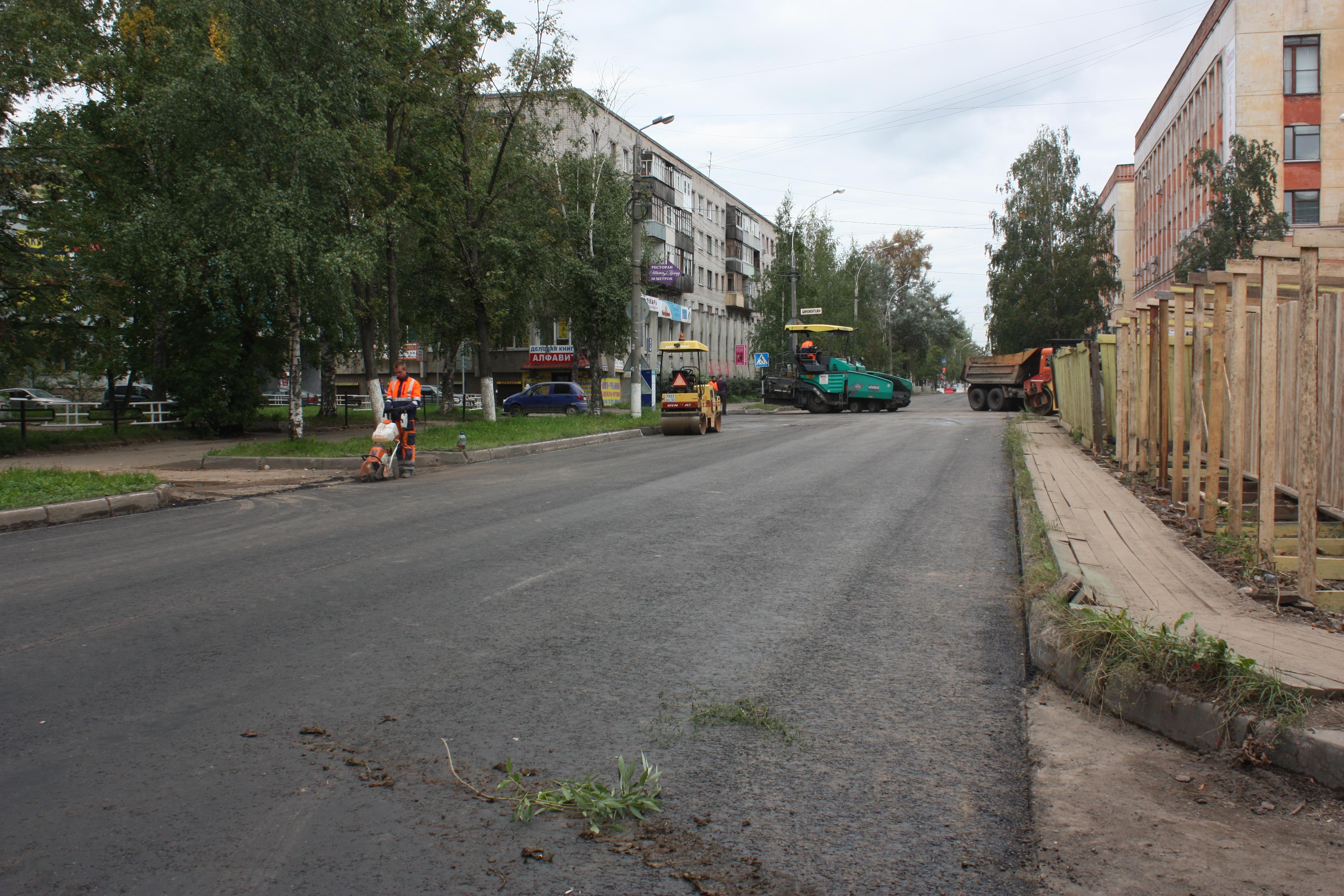 Улицу Козленскую в Вологде перекроют на ночь из-за ремонта