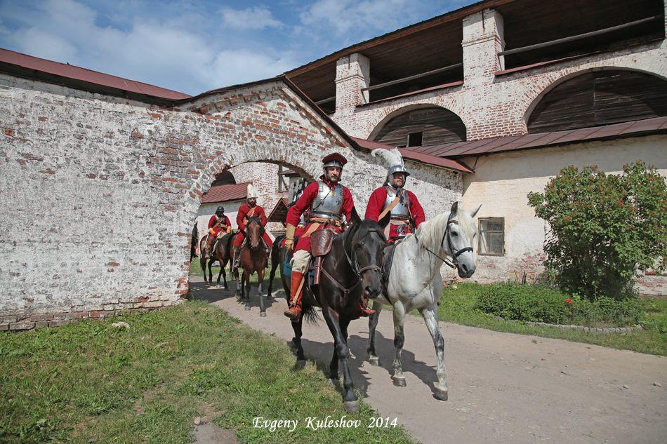 В Кириллове снова разыграется средневековая баталия