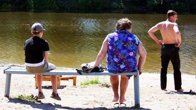 Река Вологда в районе парка Мира непригодна для купания