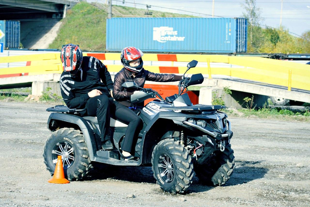 Учебный трактородром для снегоходов и квадроциклов появился в Череповце