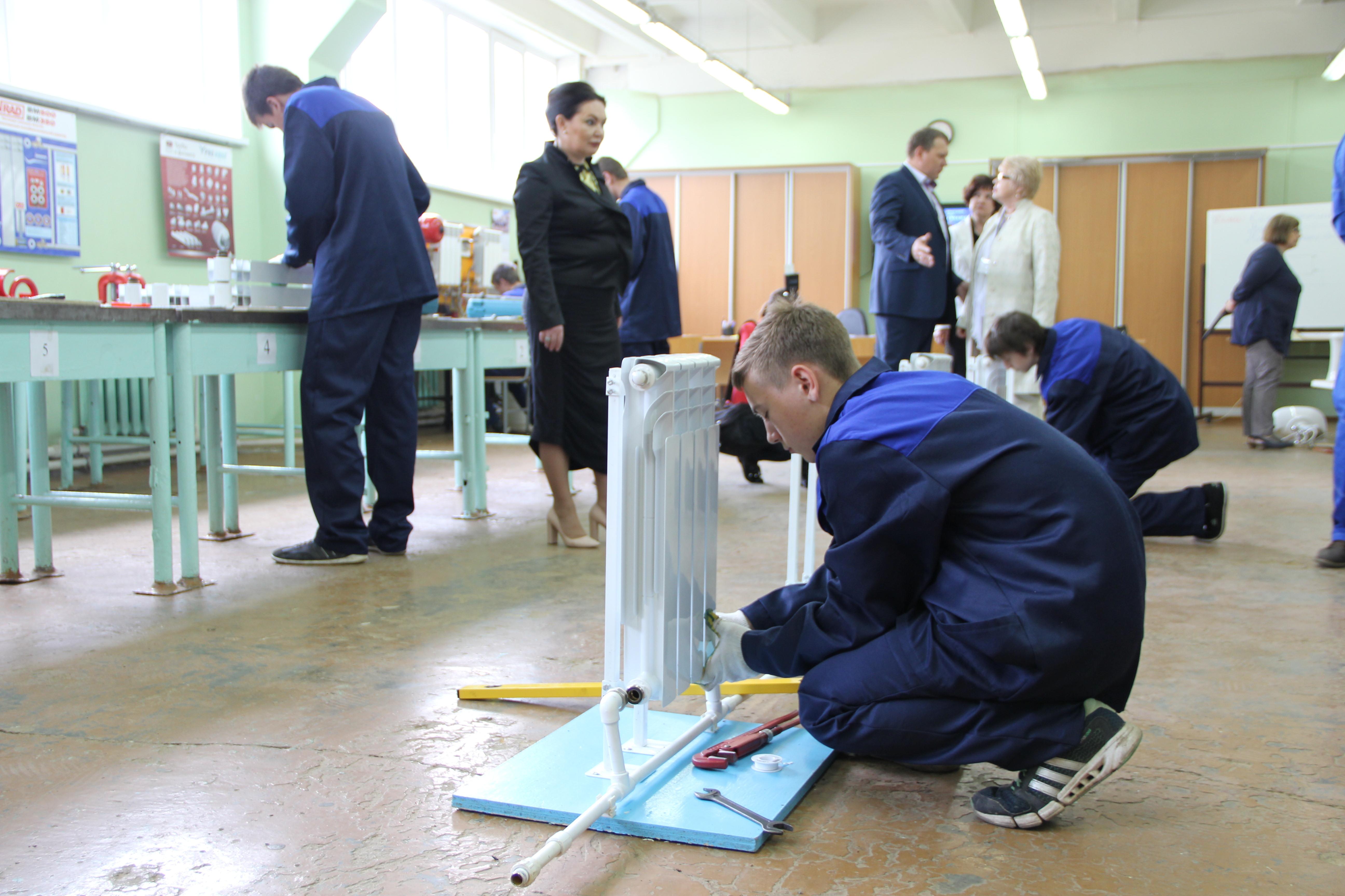 Центр профессиональной квалификации открылся в Вологодском строительном колледже