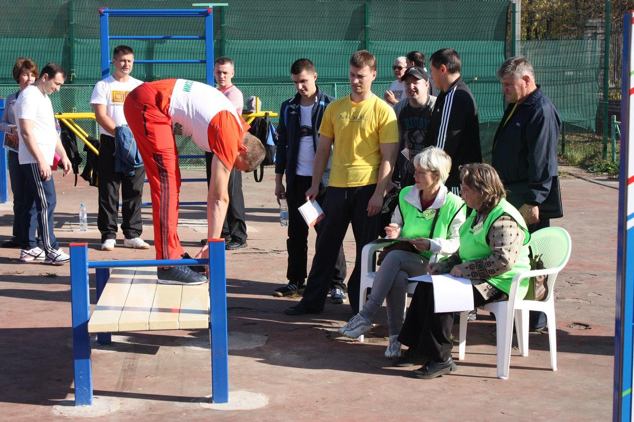 Более 200 госслужащих в Вологде сдают нормы ГТО