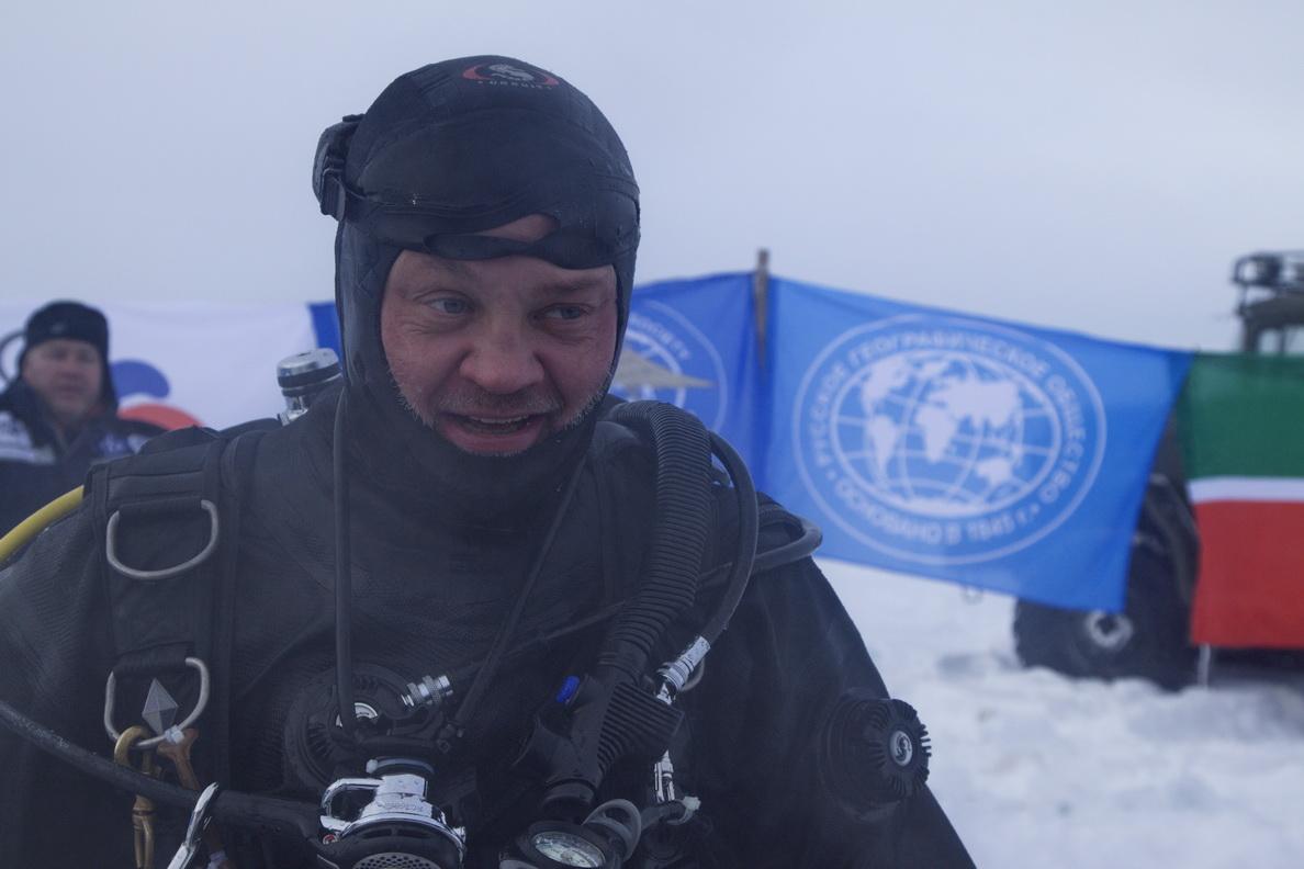 Череповецкий дайвер установил мировой рекорд
