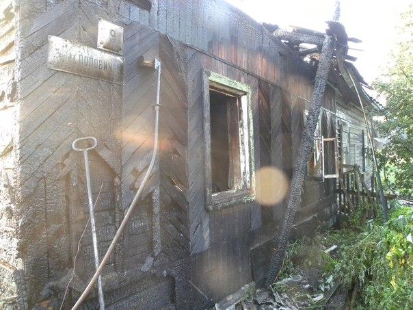 В Вологде семья с двухлетним ребенком осталась без крыши над головой