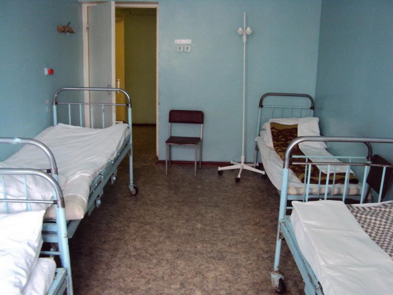 Сосательное происшествие в больничной палате
