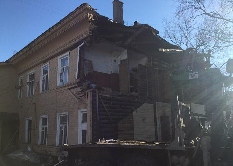 На снос расселенных домов в Вологде потратят 10 млн рублей