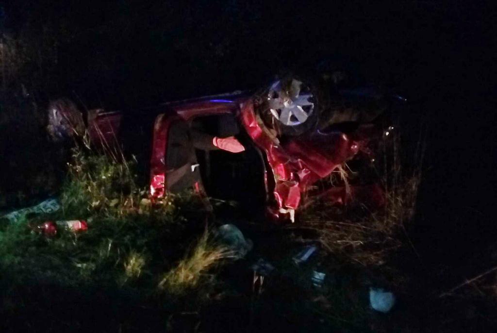 ВВологодском районе иностранная машина опрокинулась вкювет: шофёр умер