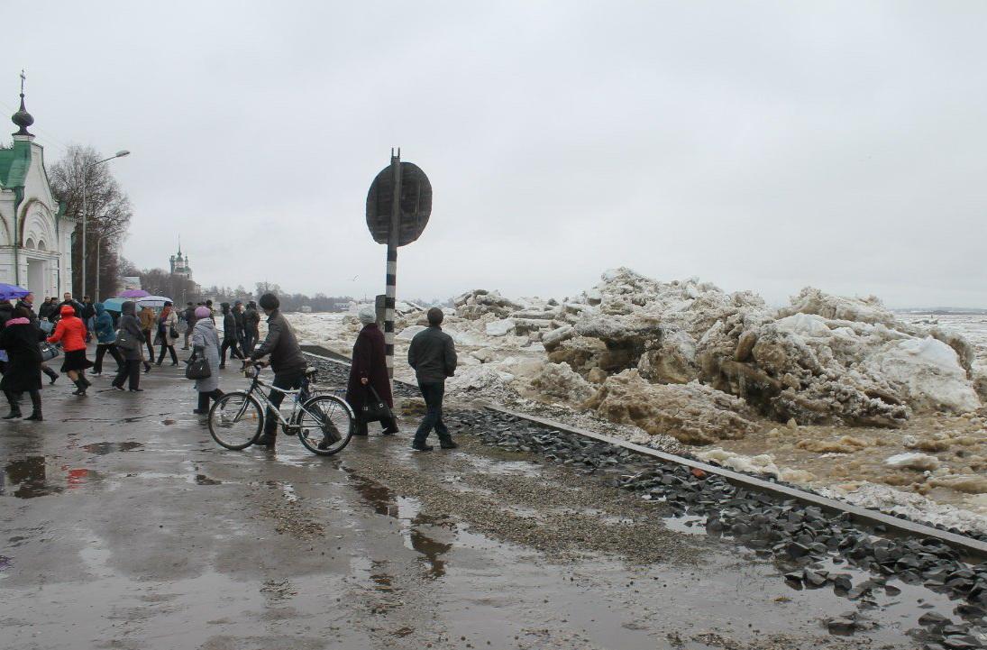 В Великоустюгском районе подтопило несколько деревень