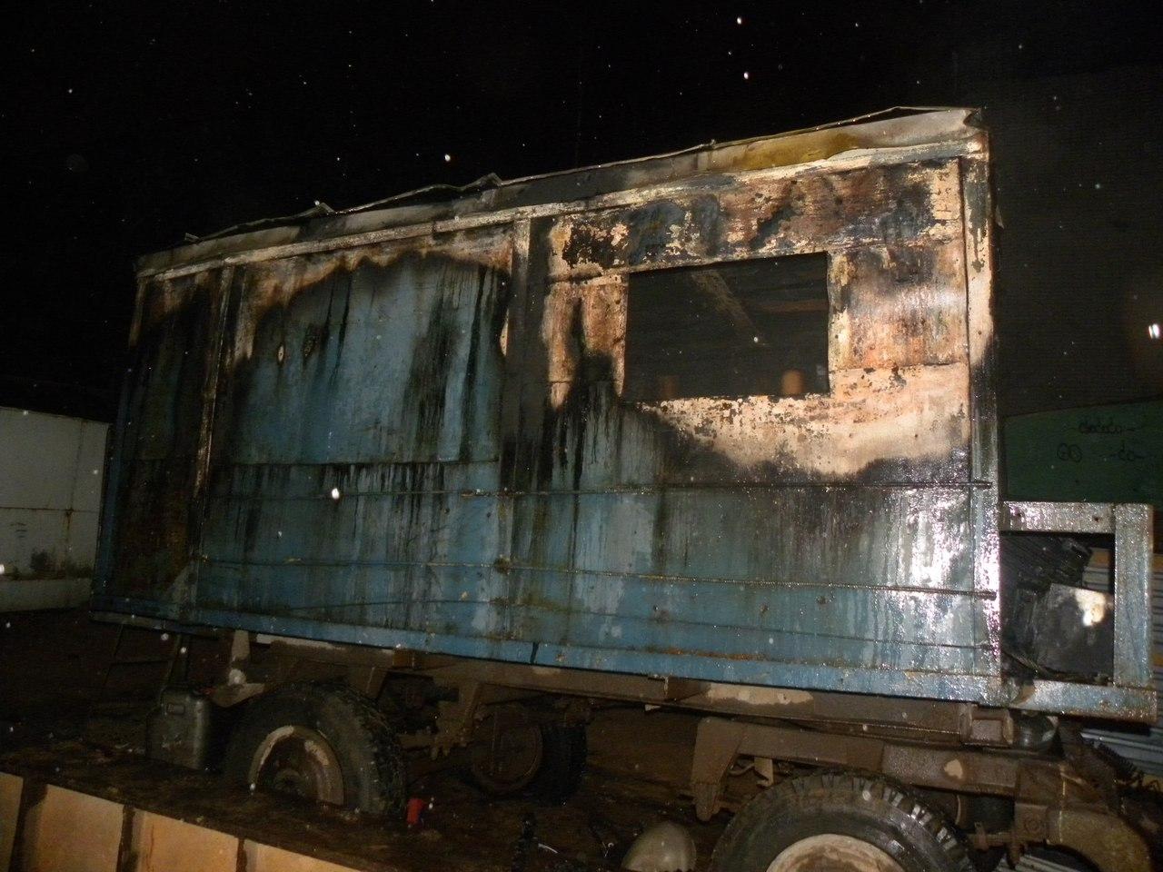 В Вологде во время пожара на стройплощадке погиб 40-летний мужчина