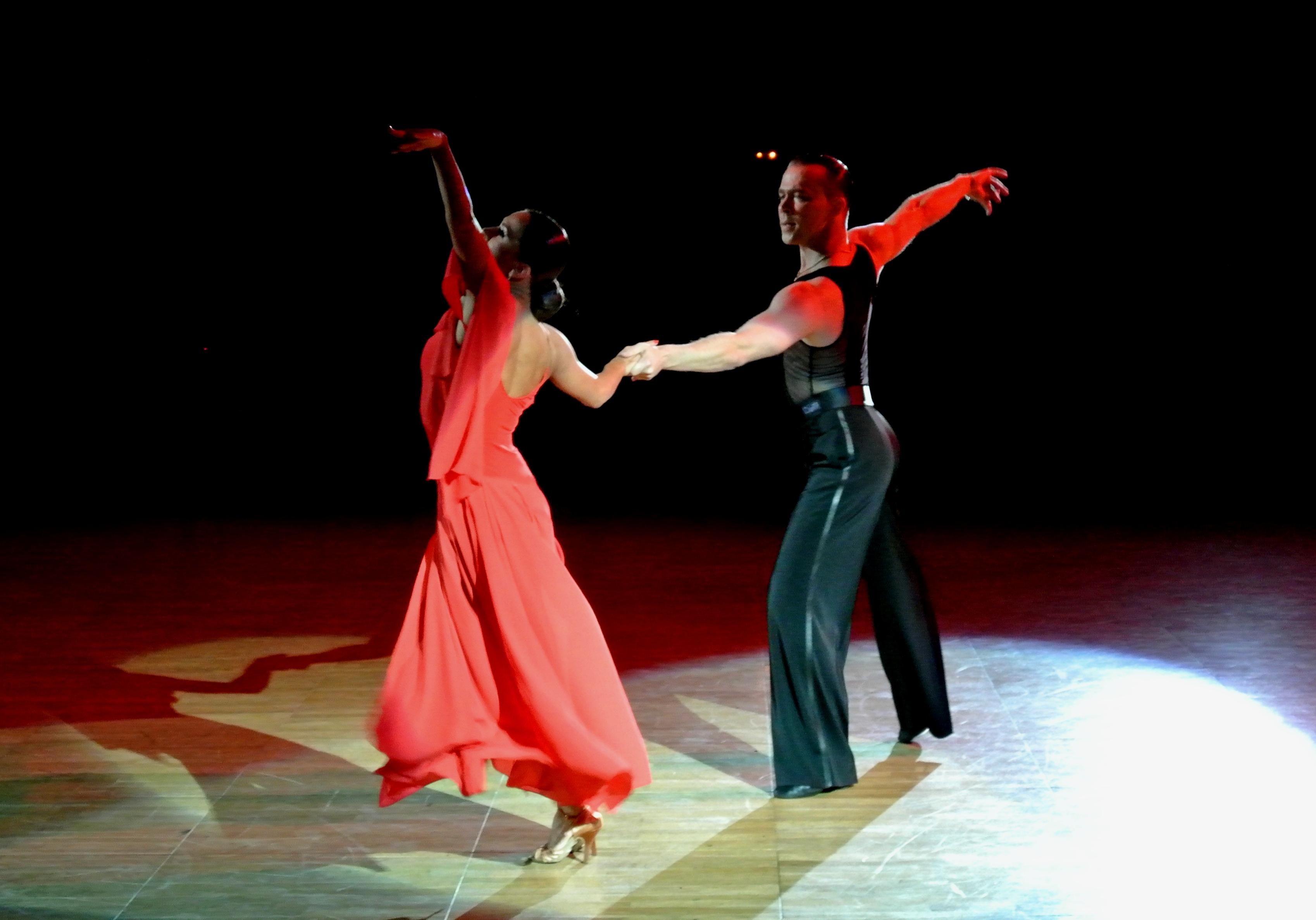 Вологодские танцоры Анна Кузьминская и Андрей Зайцев вновь выступают вместе