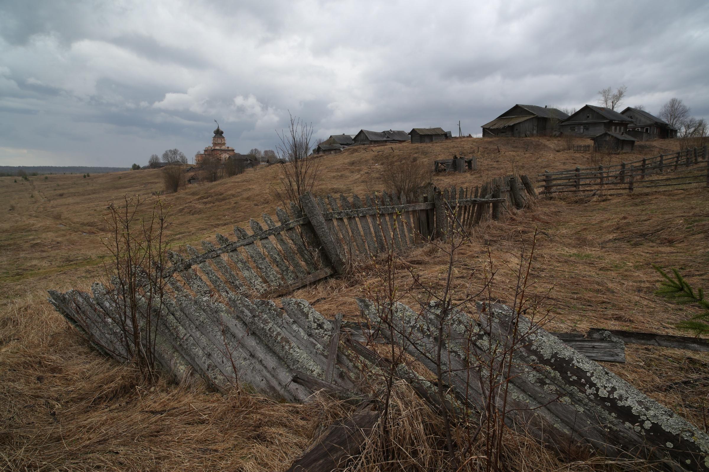 Фото деревни Вологодской области стало победителем конкурса Русского географического общества