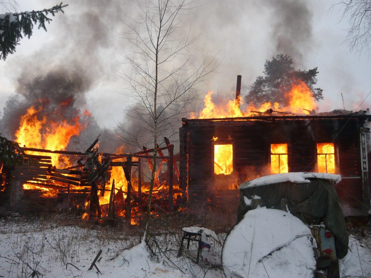 Единственный житель деревни Мыза в Вологодской области погиб при пожаре