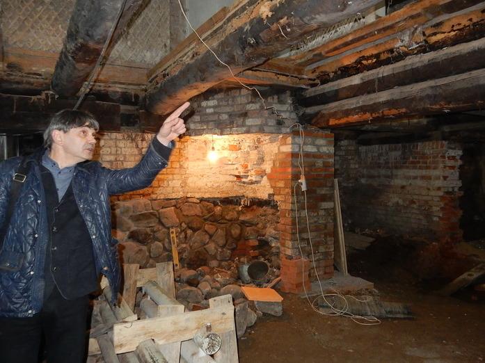 В подвалах дома Бурлова в Вологде появится ресторан