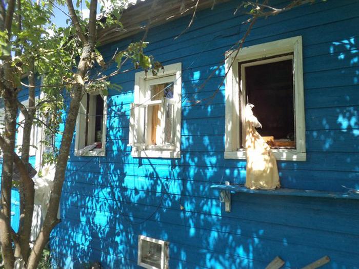 Житель вологодской деревни пострадал из-за хлопка газа