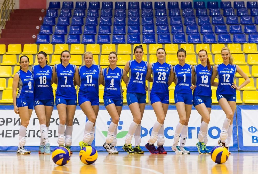 Череповецкий волейбольный клуб «Северянка» покинули несколько игроков, включая капитана