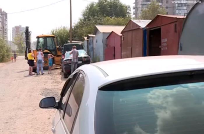 В Заречье по  распоряжению администрации Вологды вскрыли и демонтировали десятки гаражей