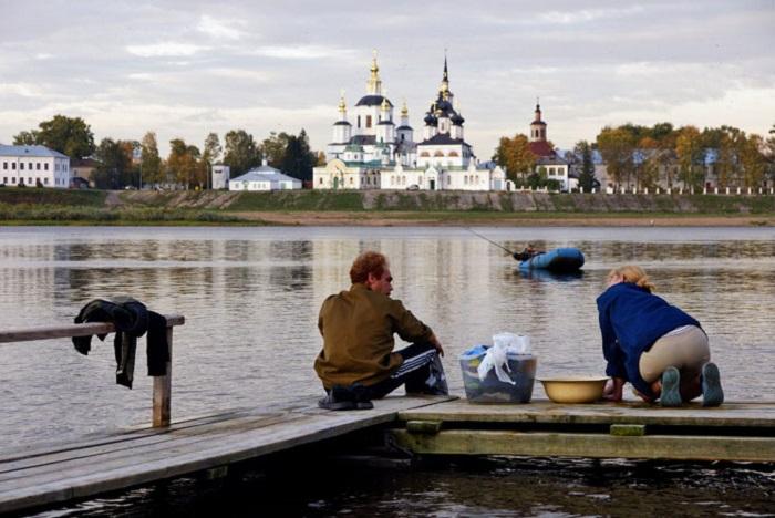 21 век в Великом Устюге: из бюджета выделено 138 тысяч рублей на полоскалки для стирки белья на реке