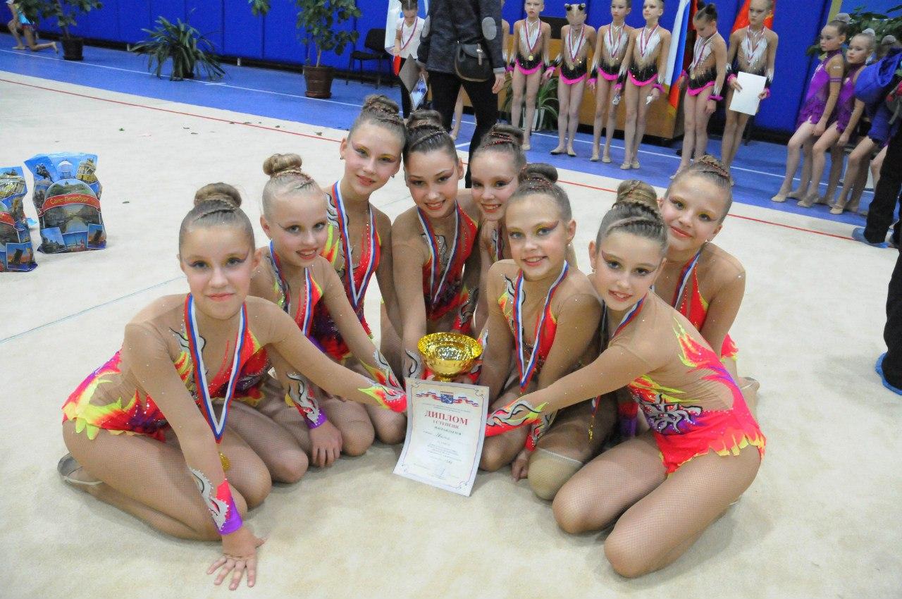 Вологодские гимнастки одержали победу на международном турнире