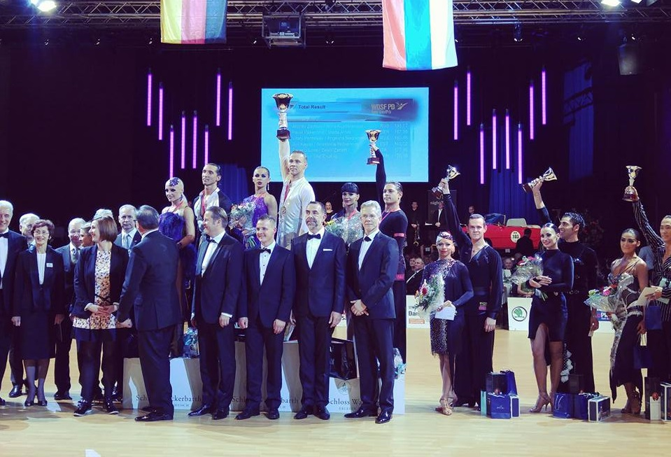 Андрей Зайцев и Анна Кузьминская стали чемпионами мира по латиноамериканским танцам