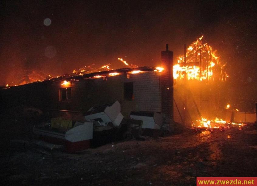 Ферма с индюками и кроликами сгорела под Череповцом