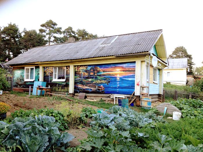 Дом-картина может стать еще одной достопримечательностью Сямжи