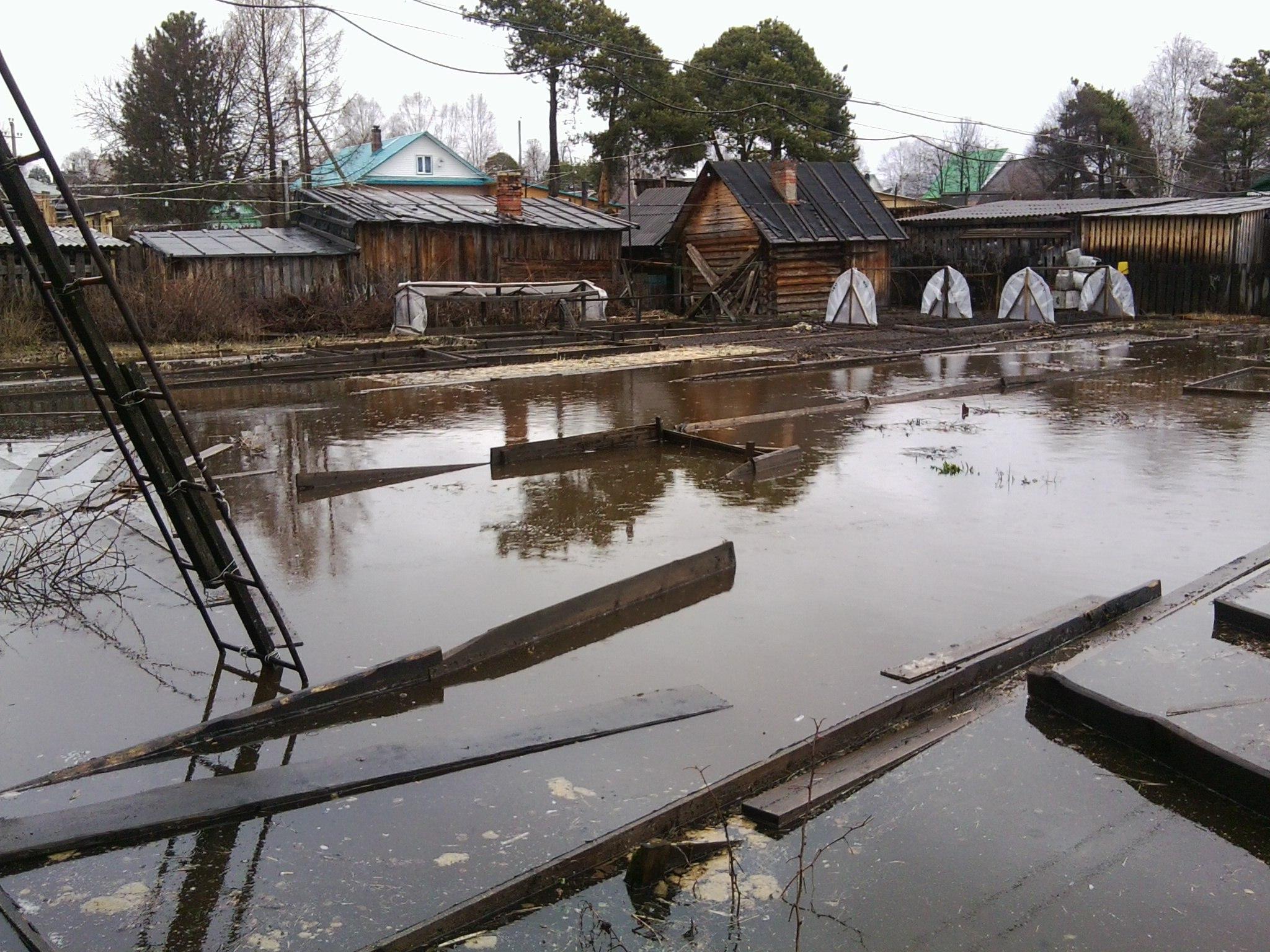 Режим ЧС введен в Никольском районе из-за наводнения