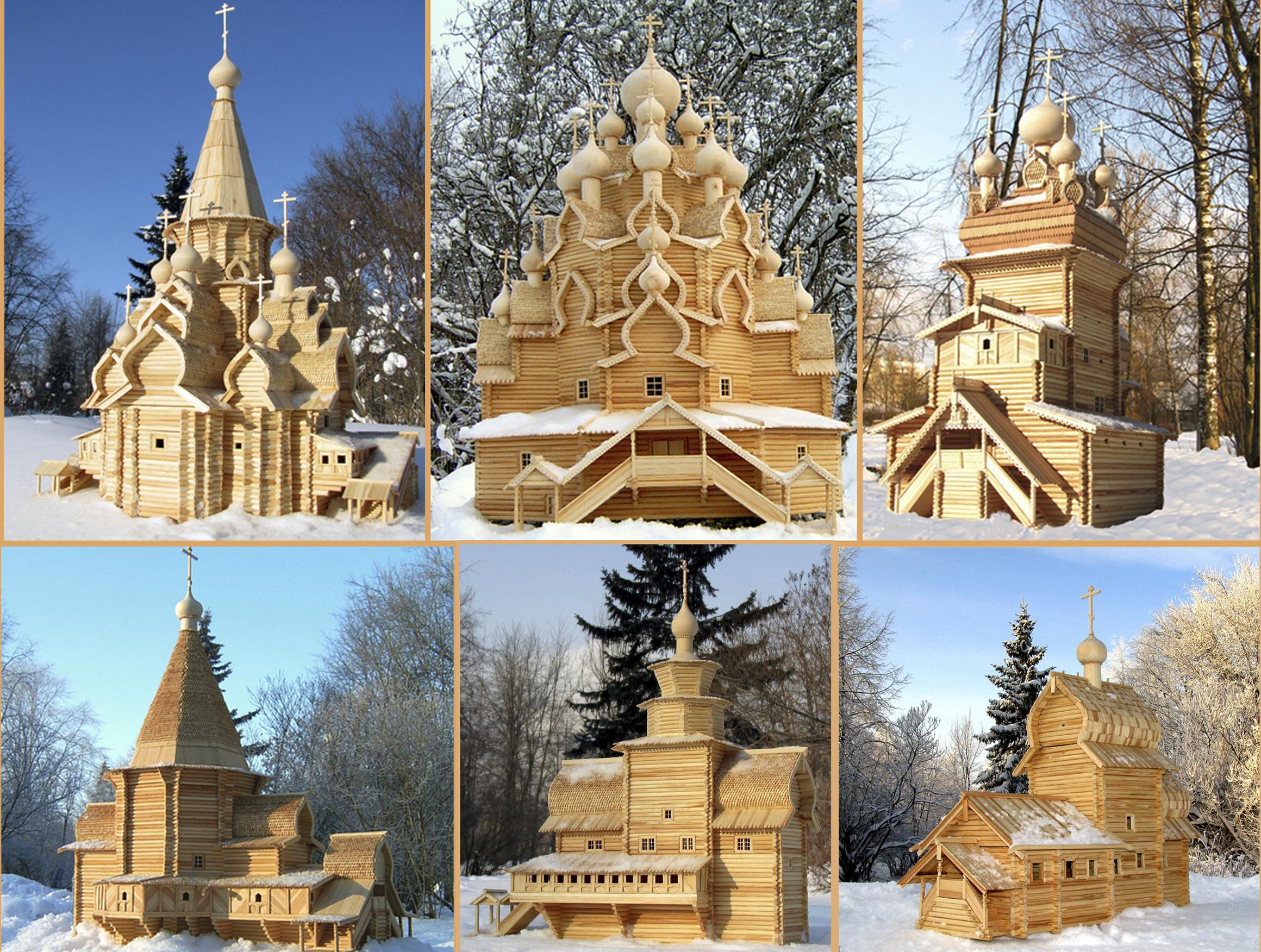 Макеты деревянных храмов Русского Севера покажут в Вологде