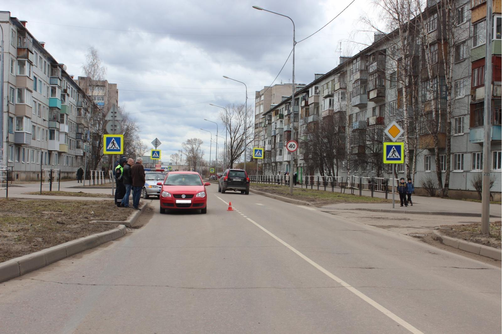 ВВологде Фольксваген сбил 4-летнего ребенка назебре