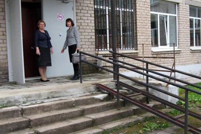 Школа в Кириллове не совсем доступна для детей-инвалидов