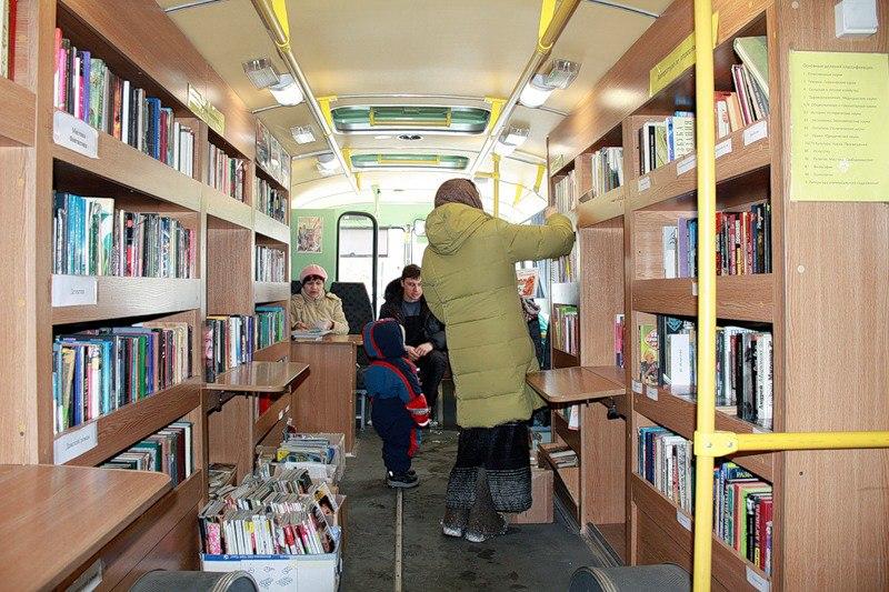 В деревни и села Бабаевского района приедет «библиотека на колесах» с компьютером