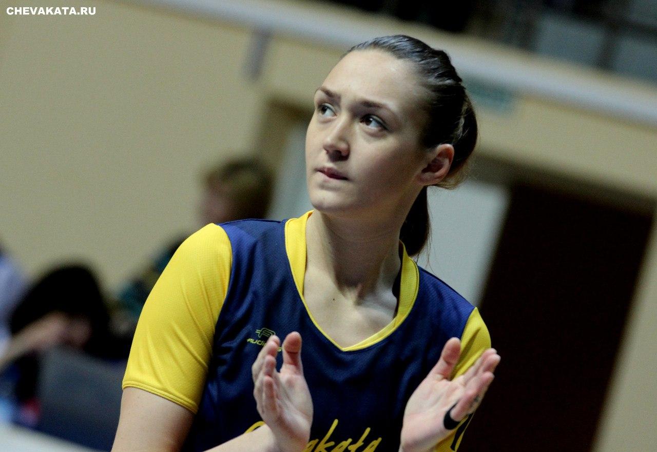 Капитан «Вологда-Чеваката» Анастасия Логунова подписала контракт с баскетбольным клубом из Бельгии