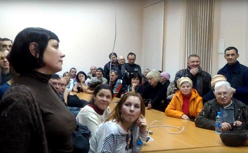 В Вологде результат голосования на публичных слушаниях заставил председательствующего сбежать