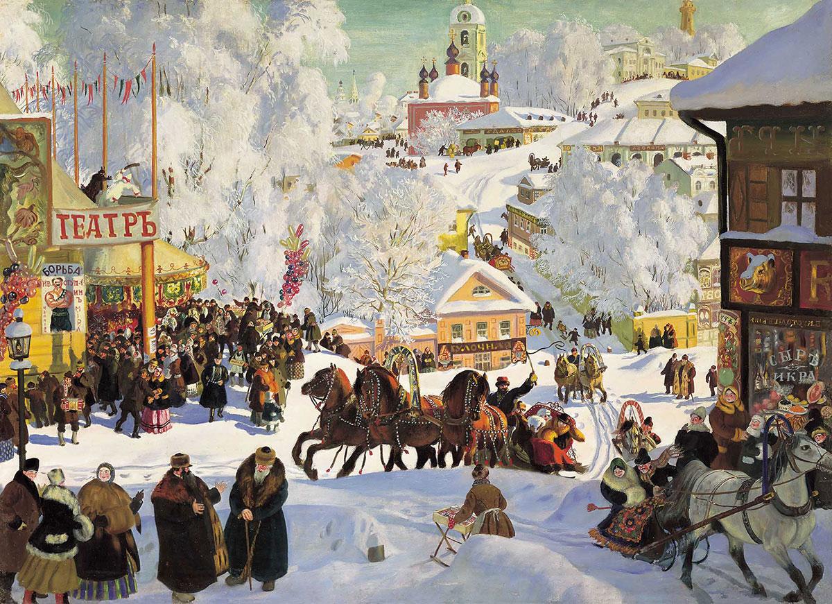 Масленица в Вологде: колокольный перезвон, концерты, ярмарки и перетягивание 100-метрового каната