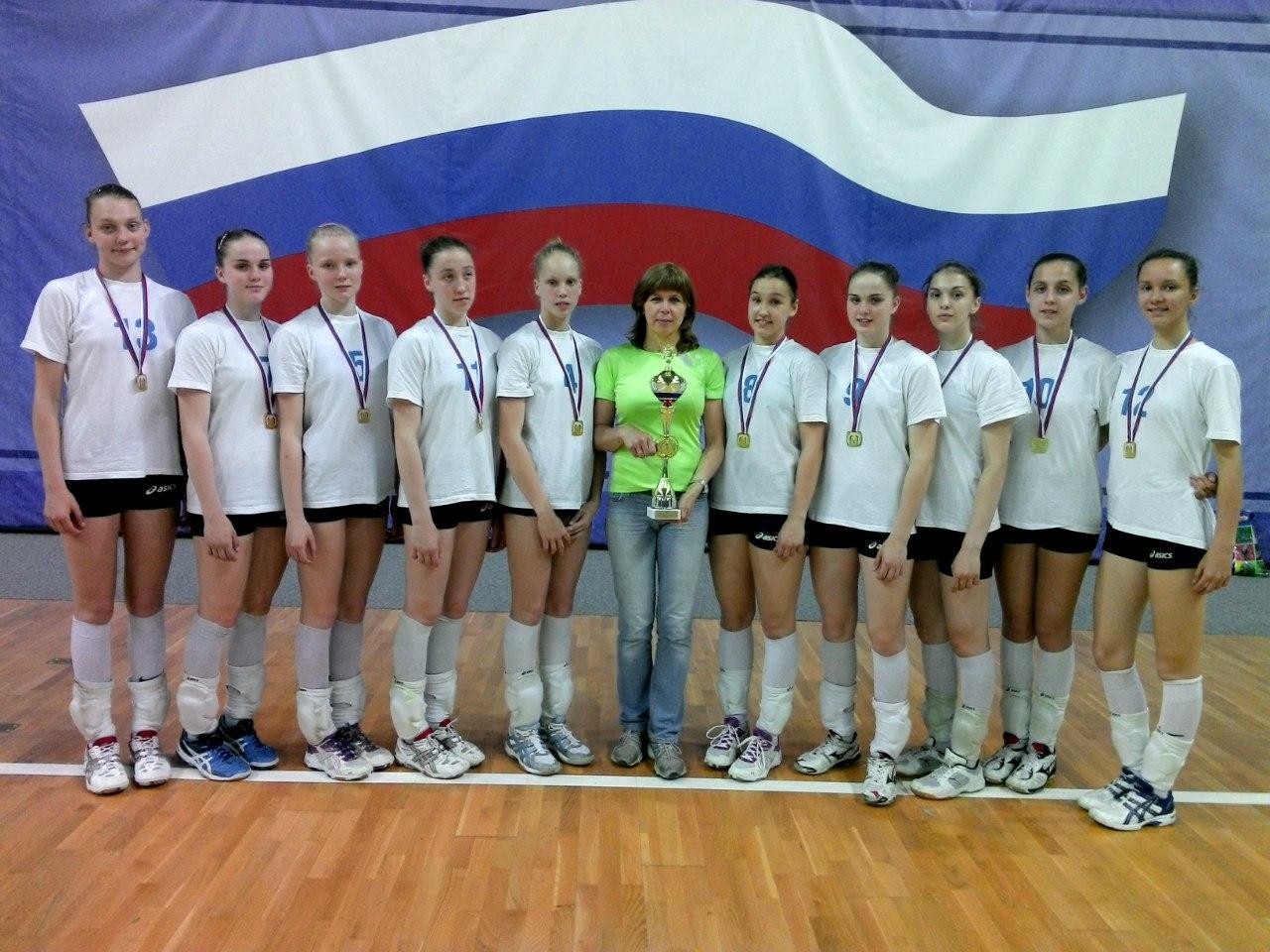 Вологодские волейболистки одержали победу на Всероссийских соревнованиях