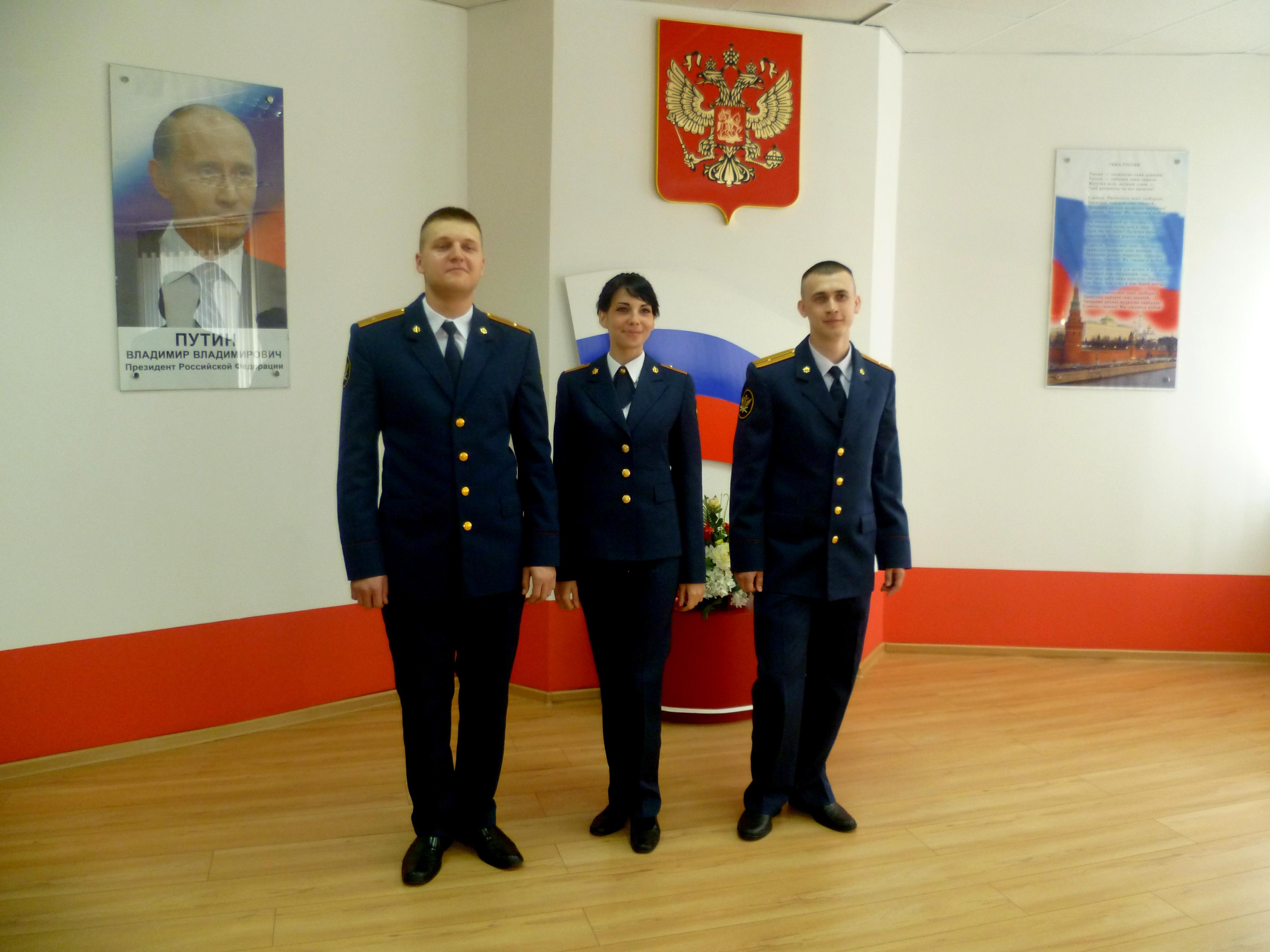 Трое курсантов Вологодского института права и экономики отправятся на прием к Владимиру Путину