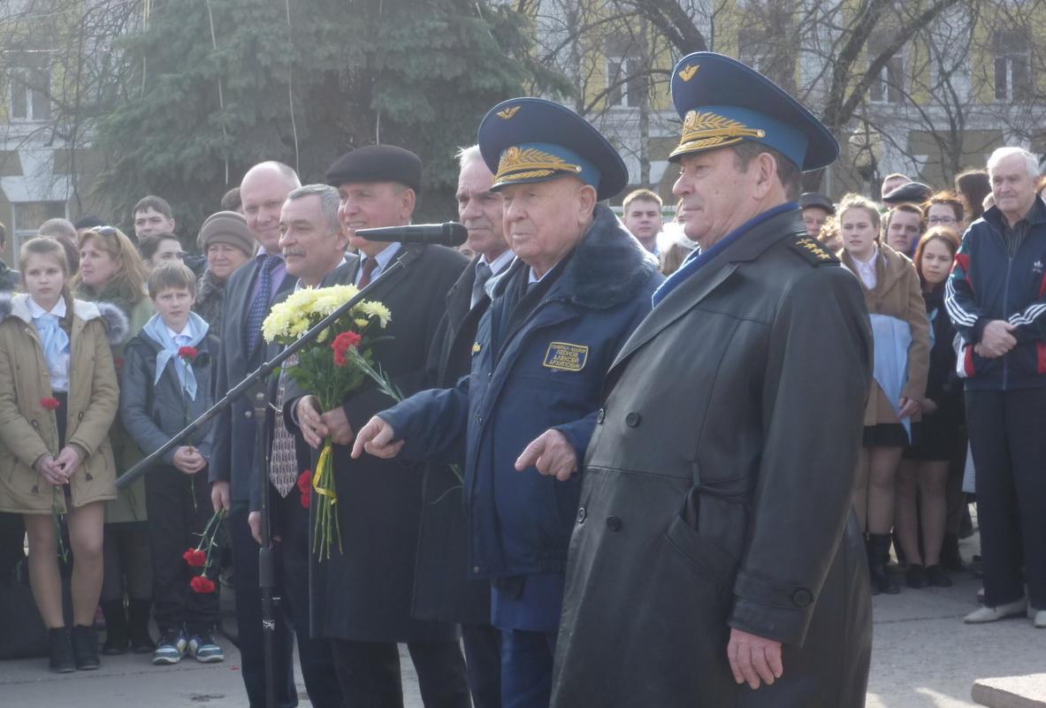 Вологду посетил космонавт и герой СССР Алексей Леонов